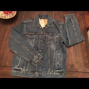 Levi's Denim Jacket With Chenille Camo Patch